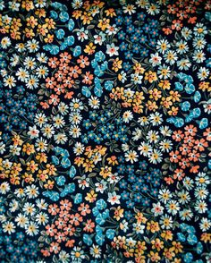 Vintage Calico Fabric