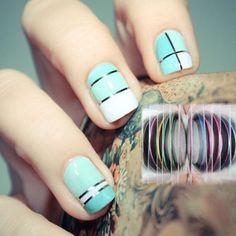 nail stripes
