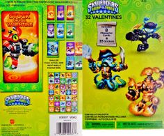 Skylanders Swap Force 32 Valentines Day Classroom Exchange Cards & 35 Stickers - Includes 8 Character Cards Skylanders Swap Force, http://www.amazon.com/dp/B00F2Y54TG/ref=cm_sw_r_pi_dp_kW3qtb19X1HPQ4KH