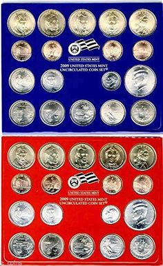 Coin Set: 2008 United States Mint Uncirculated Coin Set In ...
