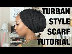 Wrapunzel Regal Wrap ~ Beginner's Essential! ~ Tuck, Turban, Tie, Tichel! - YouTube