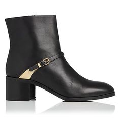Hollie Black Ankle Boot