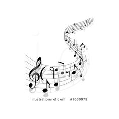 Music Clipart #1060979 - Illustration by Seamartini Graphics ❤ liked on Polyvore featuring effects