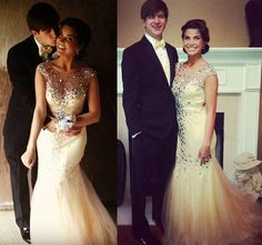 Kolby Koloff from TV show Preachers' Daughers with her boyfriend Micah Howard, wearing Dave & Johnny 8040 for prom