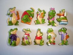 Kinder Surprise Set Croco School Crocodiles by KinderSurpriseToys Lego Duplo, Pitted Olives, Crocodiles, Retro Toys, 90s Kids, Old Toys, E Bay, Childhood Memories, Eggs