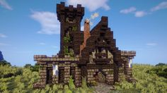 minecraft town hall tutorial medieval blueprints project houses projects planetminecraft castle designs buildings map stuff structures