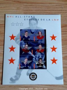 MaxSold - Auction: North York (Ontario, Canada) SELLER MANAGED Moving Online Auction - Wagon Trailway (Sheppard Ave E / 404) ITEM: NHL All-Stars Cdn Stamps Set
