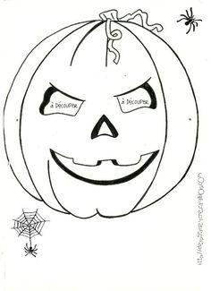 Masques d'Halloween à colorier ( à imprimer)...