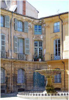 Aix en Provence- junior year abroad- love this quaint place
