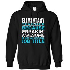 Elementary Teacher #style #T-Shirts. BUY-TODAY  => https://www.sunfrog.com/LifeStyle/Elementary-Teacher-Black-Hoodie.html?id=60505
