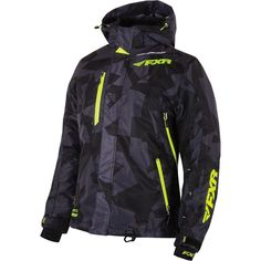 Check out the deal on FXR Women's Vertical Geo Pro Snowmobile Jacket at First Place Parts