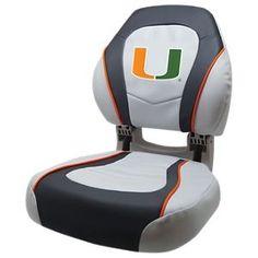 Wise Torsa College Logo Sport Boat Seat - University of Miami