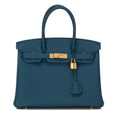 Hermes Birkin Bag 30 Colvert Togo Gold Hardware | World's Best #hermes