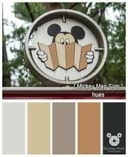 Color scheme for the home