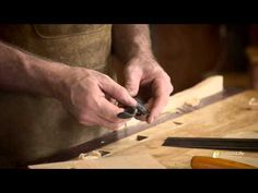 Carving an Arch by Hand