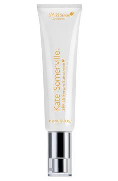 Even in the snow, protect your skin with some sunscreen! We love this Kate Somerville SPF 55 Serum Sunscreen, doesn't leave a white cast on your face and a high SPF to boot.