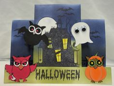 Halloween card for daughter