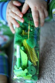 FUN AT HOME WITH KIDS: Rainbow Scavenger Hunt and Rainbow Discovery Bottles
