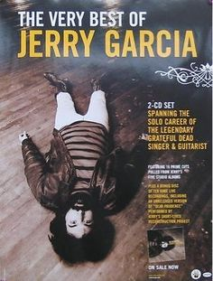 JERRY GARCIA POSTER, THE VERY BEST OF (K8)