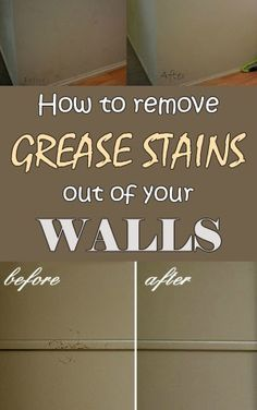 1000 Images About Cleaning On Pinterest Grease Stains