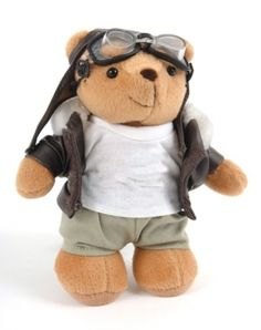 flygcforum.com ✈ AFE Online Aviation Products ✈ Aviation Gifts ✈ afeonline - Large Biggles bears are approximately. 20cm tall.