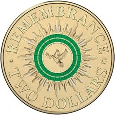 2014 $2 #Remembrance DayCirculating Coloured @RoyalAusMint Roll. Exclusive! Struck by the Royal Australian Mint, the 2014 $2 Remembrance Day Circulating Mint Rolls (no mintmark) are available only through authorised distributors.