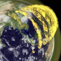 plasma tubes around Earth