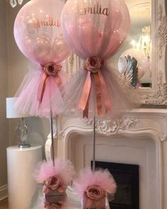 site Party Balloon ideas Tulle balloon covered Centrepieces Published July 2019 ideas party birthday balloons The Perfect Pink Baby Shower Gown - Sexy Mama Maternity Birthday Room Decorations, Girl Baby Shower Decorations, Balloon Decorations, Baby Shower Themes, Wedding Decorations, Balloon Ideas, Girl Babyshower Themes, Tulle Baby Shower, Butterfly Table Decorations