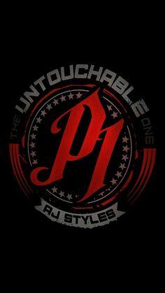 Aj styles logo Bullet Club Logo, Wwe Championship Belts, Wrestling Rules, Aj Styles Wwe, Wwe Wallpapers, Iphone Wallpapers, Japan Pro Wrestling, Shawn Michaels, Wwe Tna