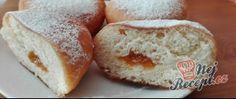 Recept Koblížky plněné domácím džemem Bread, Food, Meal, Brot, Eten, Breads, Meals, Bakeries