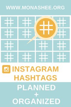 instagram hashtag tips. Plan and organize your Instagram hashtags in advance and schedule them out with your posts using Later.