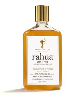 Beware of shampoos with sulfates and detergents that can strip away color. In order to avoid any damage, switch to an all-natural alternative like Rahua shampoo. #beauty