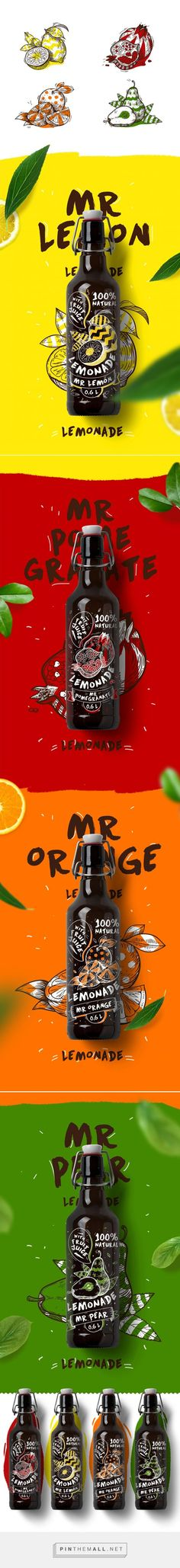 Создание упаковки для газированных напитков via Rina Rusyaeva on Behance curated by Packaging Diva PD. Thanks to team member Cynthia who found this great colorful packaging pin.