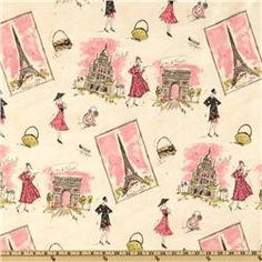 paris decor weight fabric