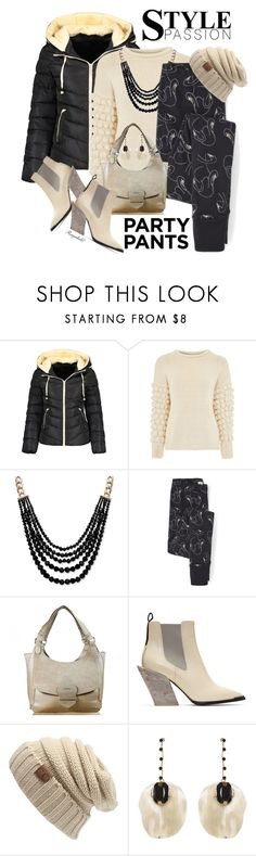 """""""Have a wonderful Weekend Everybody with #PolyPresents: Fancy Pants"""" by ragnh-mjos ❤ liked on Polyvore featuring Topshop, Anne Klein, Acne Studios and Marni"""