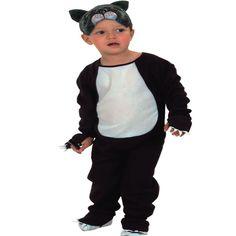 DisfracesMimo, disfraz de gato barato infantil 1 a 2 años.Compra tu disfraz barato y es perfecto para disfrazar a tu pequeño de este dulce y tierno animal de compañía en fiestas de la guardería, cumpleaños o carnaval.