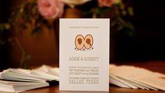 Dallas Wedding Program