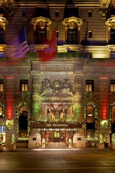 The Peninsula New York is housed in a 1905 Beaux-Arts building at Fifth Avenue and 55th Street. #Jetsetter
