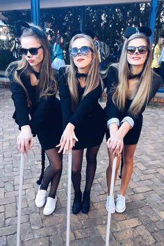 3 of a Kind 21 Trio Costumes to Wear With Your Best Friends  sc 1 st  Pinterest & 3 blind mice u2026 | halloween costumes | Pinteu2026