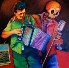 Accordion Dead of the Dead art
