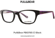 Pull&Bear PBG1765 C1 Black Pull, Eyewear, Bear, Style, Swag, Eyeglasses, Bears, Sunglasses, Outfits