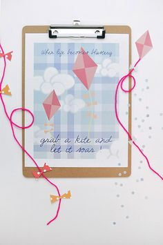 Let it Soar, Spring Printable - Delineate Your Dwelling