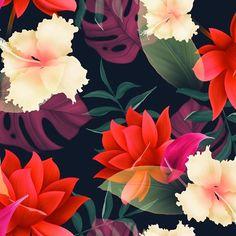 "606 Likes, 8 Comments - Natalia Smirnova (@themishaart) on Instagram: ""New print for #patternbank #floralprint #patterndesign #printdesign #textileart #artblog #botanica…"""