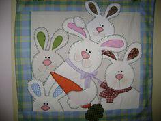 cute little easter quilt