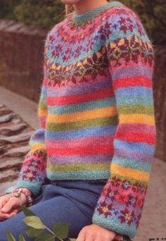 Knitting-Pack-ISLAND-NORWEGIAN-SWEATER-Lett-Lopi-25-1