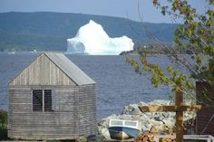 Iceberg, Burlington, Newfoundland <3