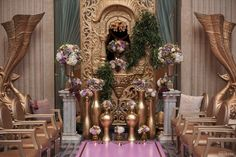 WedLuxe– Queen Midas | Photography by: Amsis Photography  Follow @WedLuxe for more wedding inspiration!