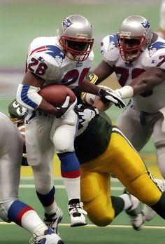 Curtis James Martin running back, Super Bowl XXXI ...