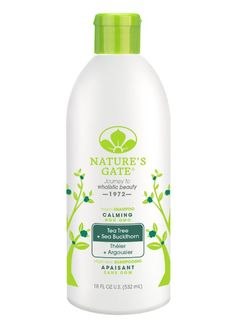 Nature's Gate Tea Tree Shampoo; best shampoo for fine/oily scalp/dry ends hair