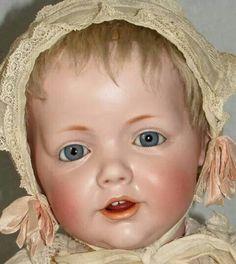 Kestner Hilda, All Antique/Original, inch - Faraway Antique Shop Victorian Dolls, Antique Dolls, Pretty Dolls, Beautiful Dolls, Half Dolls, Reborn, Doll Shop, Bear Doll, Vintage Paper Dolls